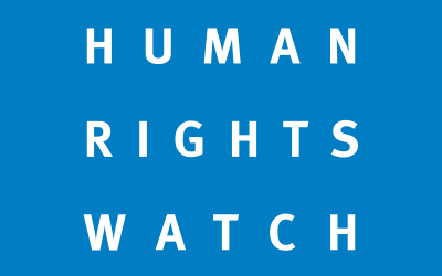 HRW Continues its Anti-Israel Crusade