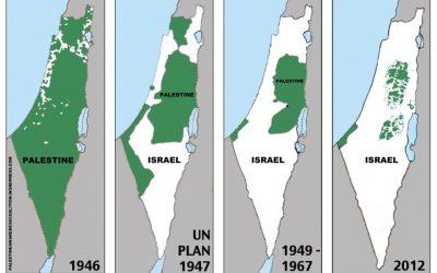 Is Israel stealing Palestinian land?